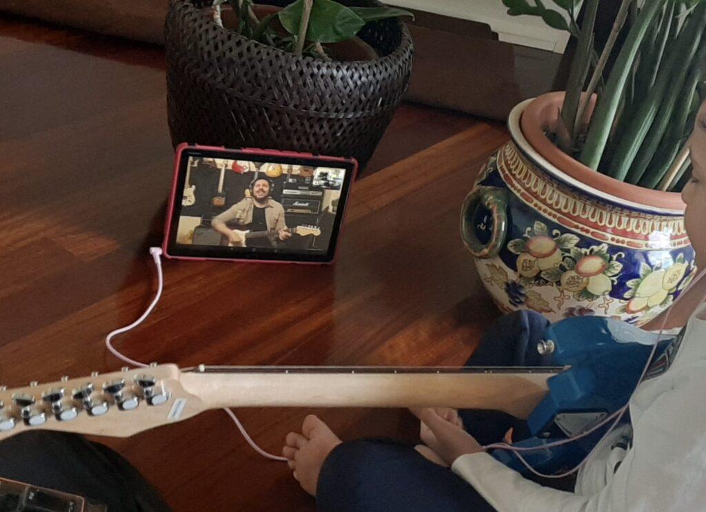 Rodolfo Capoderosa lezioni chitarra online 2