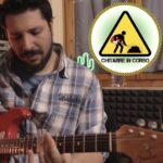 Problema rumore chitarra elettrica
